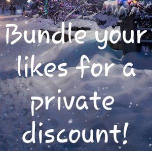Big discounts on bundles!!
